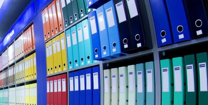 arquivos empresariais