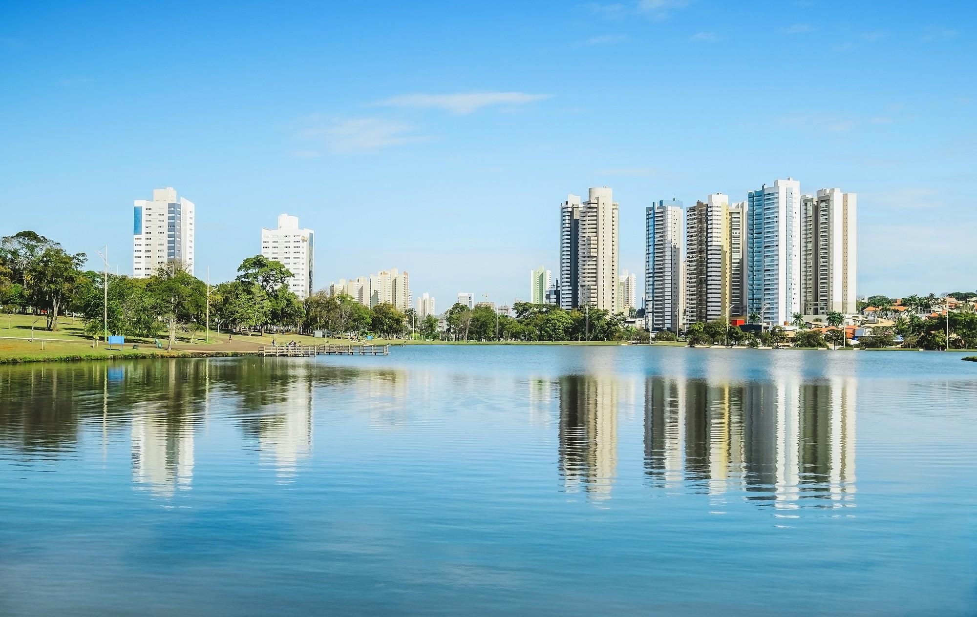 Foto do parque de Ibirapuera - Campo Grande - MS